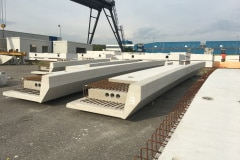 Precast bridge girders