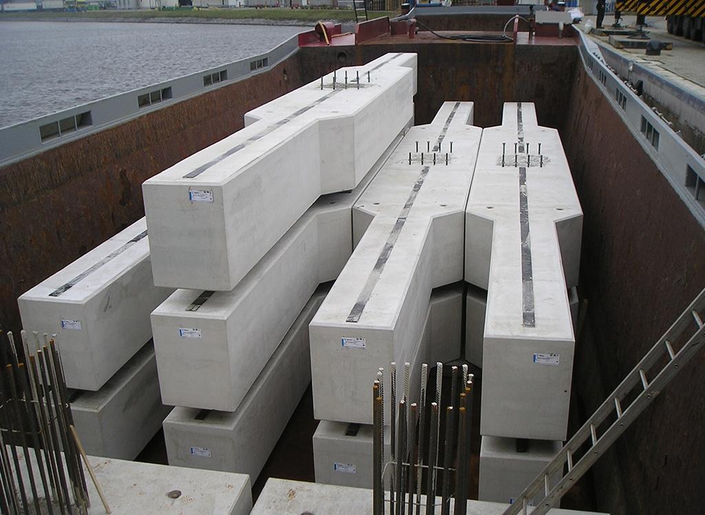 Vervoer van beton