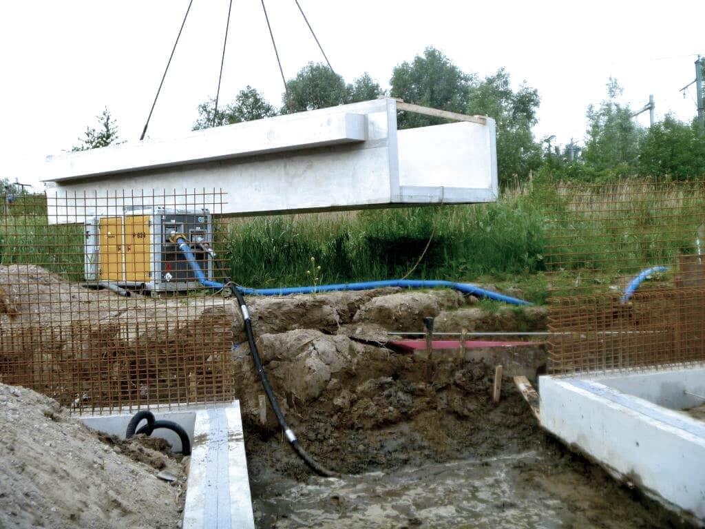 Plaatsing bouwwerk