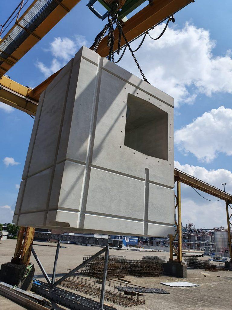 prefab betonnen pompblokken